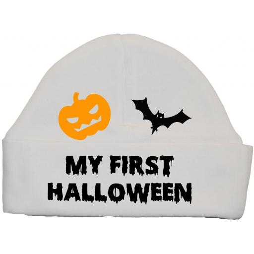 My First Halloween Baby Beanie Hat, Cap Newborn -12 Months