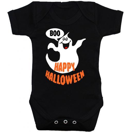 Happy Halloween Baby Grow, Bodysuit, Romper