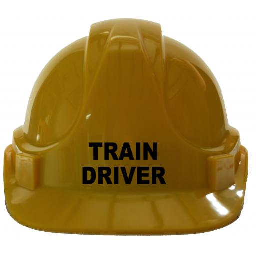 Train Driver Children, Kids Hard Hat Safety Helmet