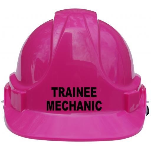 Trainee Mechanic Children Hard Hat Safety Helmet Car