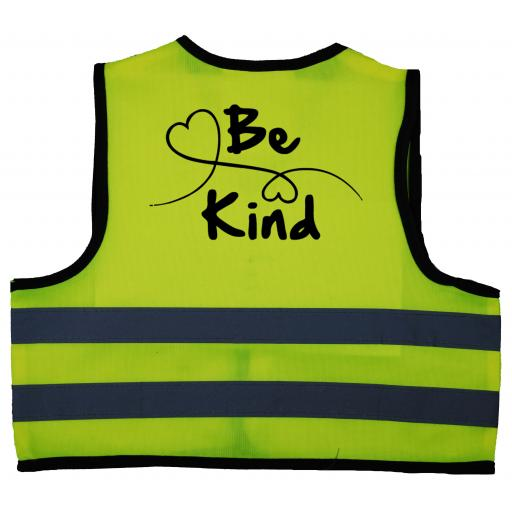 Be Kind Heart Baby Children's Kids Hi Vis Safety Jacket