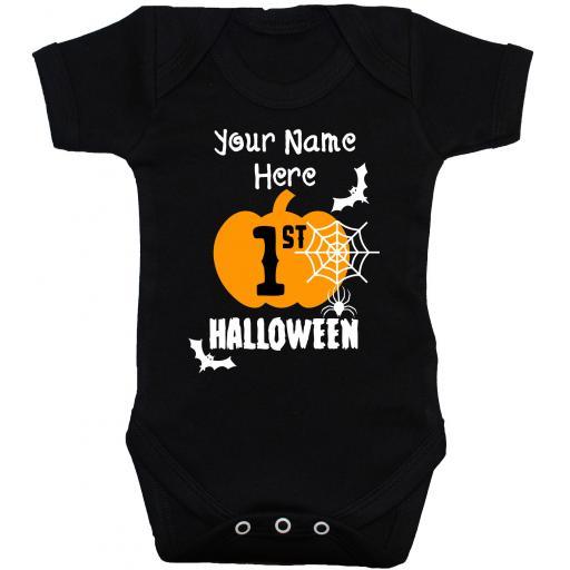 My First Halloween Baby Grow, Bodysuit, Romper